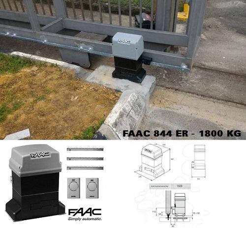 Cổng trượt tự động FAAC 844 ER