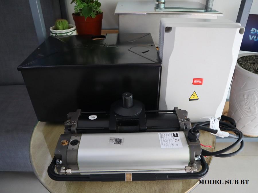 Cổng tự động âm sàn thủy lực Sub BT 04