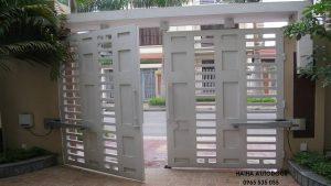 Lắp đặt cổng tự động tại Hải Dương 02