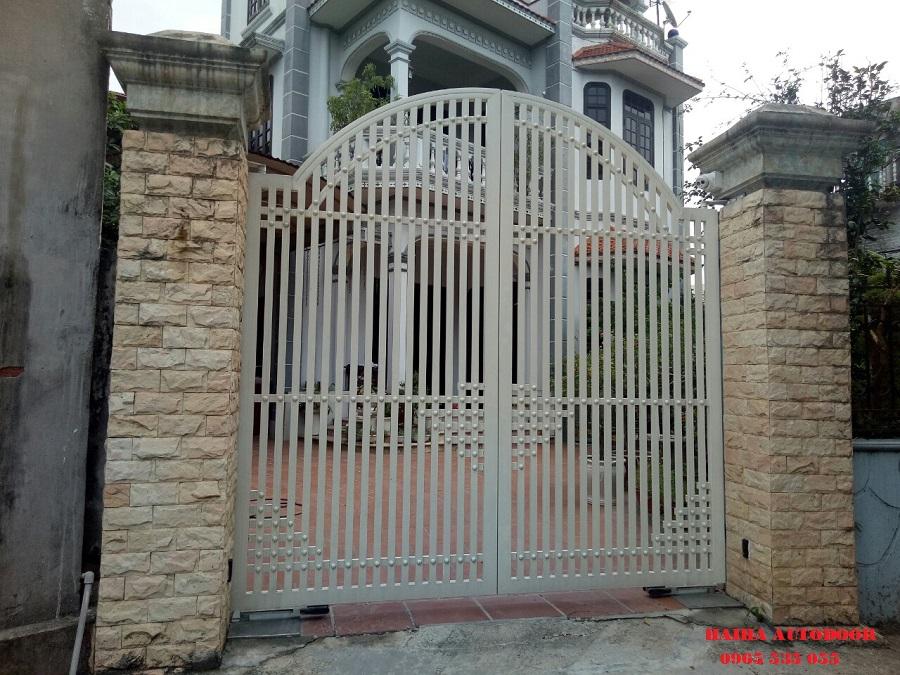 cổng tự động tại Ninh Bình