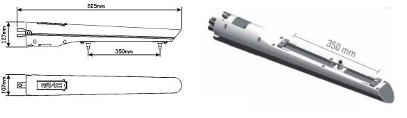 Cổng tự động mở cánh tay đòn FAAC model S418