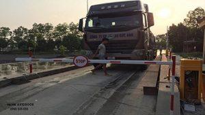 Lắp đặt barie tự động tại Hà Nam