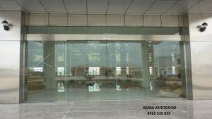 Lắp đặt cửa tự động tại Nam Định 02
