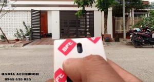 Lắp đặt cổng tự động âm sàn tại KĐT Minh Phương Việt Trì 03
