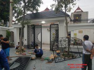 Cổng tự động BFT tại Vĩnh Yên Vĩnh Phúc