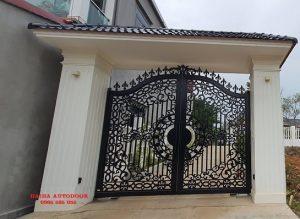 Lắp đặt cổng tự động âm sàn tại Kim Long Vĩnh Phúc