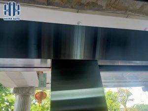 Hình ảnh thực tế của cửa kính trượt tự động